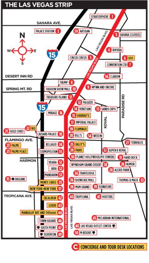 las vegas strip  map png 376x665
